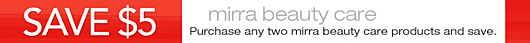 Get the coupon: purchase any two Kroger mirra beauty care products and save $5